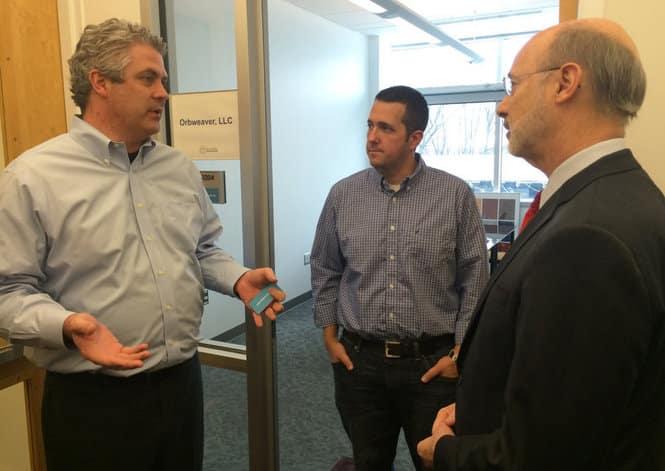 Gov. Tom Wolf visits Bethlehem's Ben Franklin TechVentures